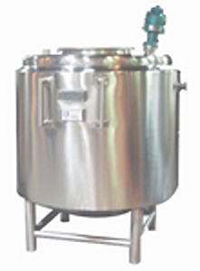 Sanitary portable vessel